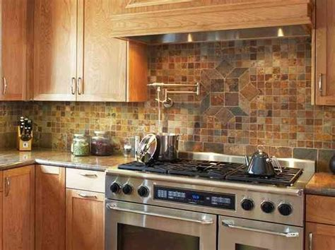 backsplash for kitchen ideas rustic kitchen backsplash ideas fanabis
