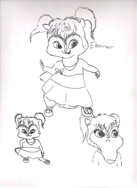 Free Printable Chipettes Coloring Pages For Kids Chipettes Coloring Pages