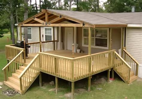 photos of modular home deck plans mobile homes ideas
