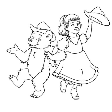 little bear coloring pages coloring home