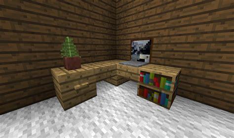 detail corner desk minecraft