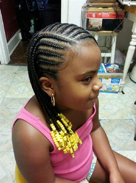 big and scanty braids simple hairstyle for cornrow hairstyles for little girls