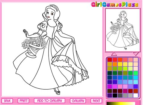 princess coloring pages games online coolmerc disney princess coloring game 468613 princess
