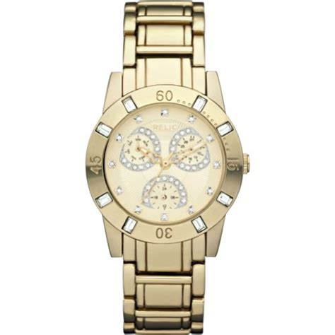 relic by fossil beth gold tone womens