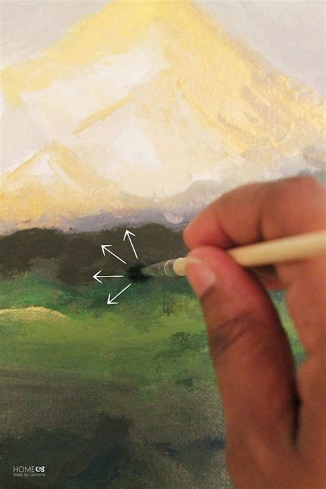 12 acrylic painting techniques for beginners