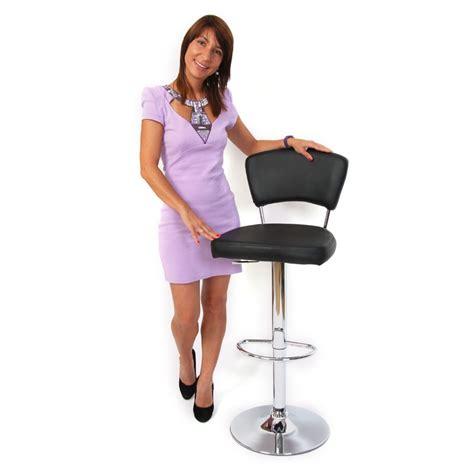 taburete para bar o cocina taburete para bar o cocina n46 en cuero sint 233 tico negro