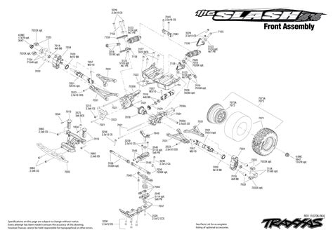 traxxas slash 4x4 parts diagram slash 4x4 parts diagram traxxas parts diagram elsavadorla