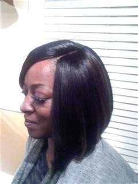 bob sew in with invisilbe part 53 best images about hair on pinterest bobs full weave