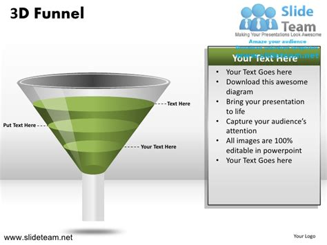 How To Make Create 3d Sales Funnel Powerpoint Presentation How To Make A Funnel In Powerpoint
