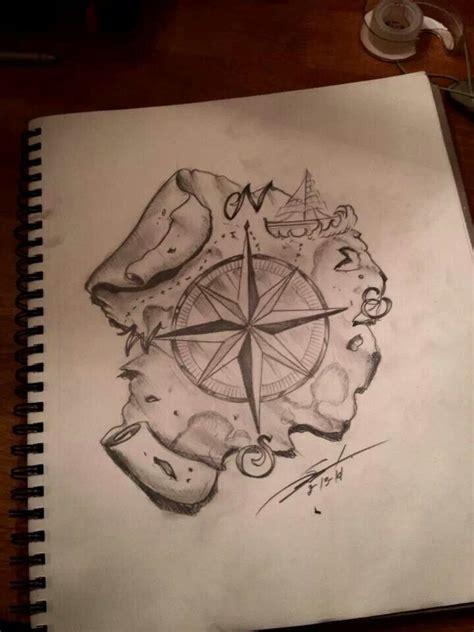 compass tattoo sketch compass tattoo sketch tattoos pinterest