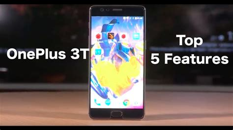 Oneplus 3t Giveaway India - top 5 features of oneplus 3t digit in youtube