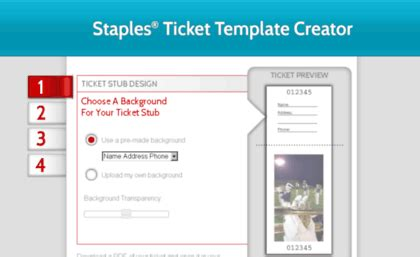 printable tickets at staples tickets product support staples com website print tickets
