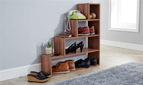 understairs shoe storage unit understairs shoe storage unit groupon goods