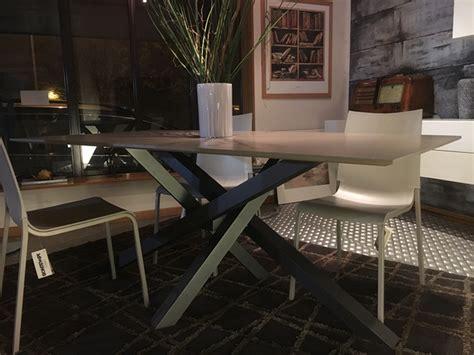 tavolo allungabile riflessi tavolo shangai di riflessi in vetro rettangolare tavoli
