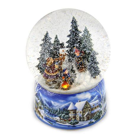 musical let it snow l post let it snow light up musical christmas snowstorm globe