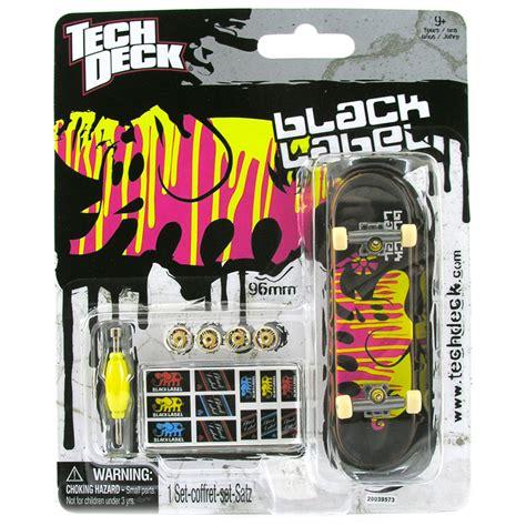 Tech Deck Finger Board Black Label 02 tech deck 96mm fingerboard choice of styles one supplied