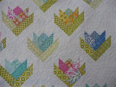 Free Tulip Quilt Block Pattern by Tulip Aka Quilt Pattern Is In Jelly Roll Quilts By Pam Nicki Lintott Called Floral