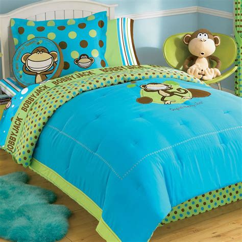size monkey bedding monkey bobby bedding set 5pc comforter sheets bed