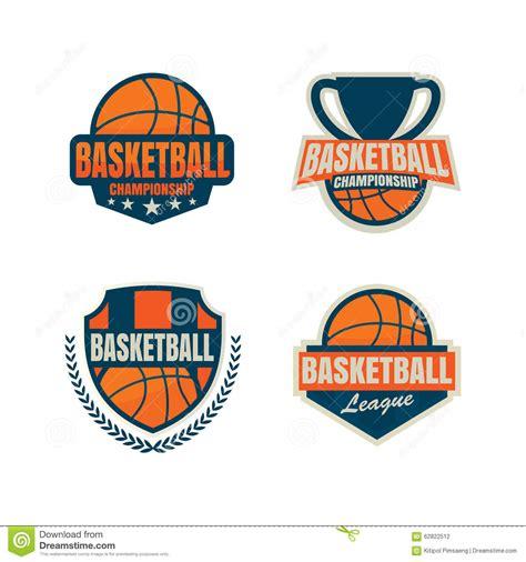 Basketball Logo Template Stock Vector Image 62822512 Basketball Logo Template Free