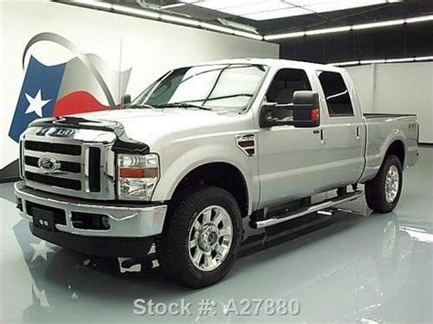 buy used 2010 ford f 250 lariat crew diesel fx4 4x4 rear cam 30k texas direct auto in stafford