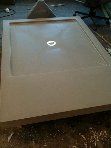Concrete Shower Base by Concrete Shower Pan How To Install A Concrete Shower Pan