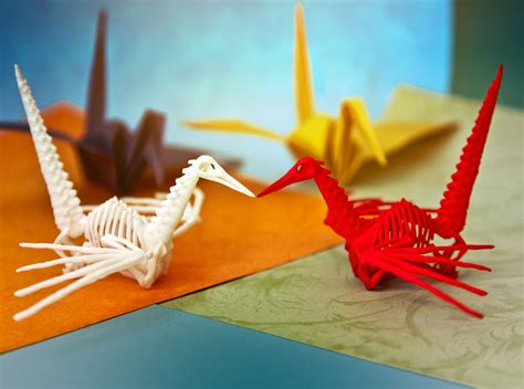 Skeleton Origami - skeleton origami 28 images origami crane skeleton