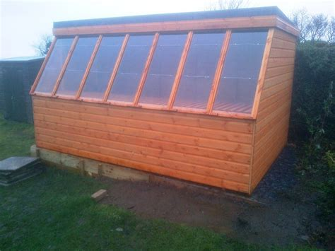 The Potting Shed Wales by Potting Shed Squared Front Wales Sheds