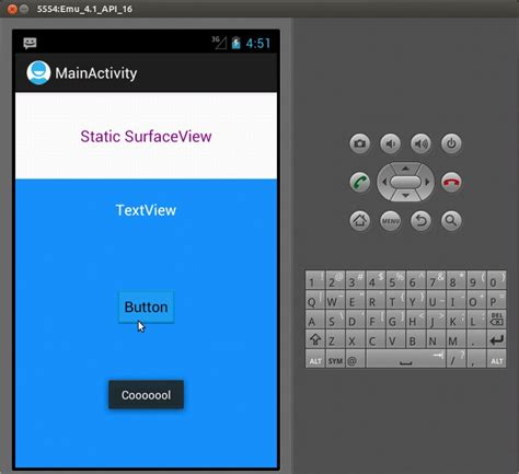 android surfaceview sle program android surfaceview static surfaceview creation in android dynamic