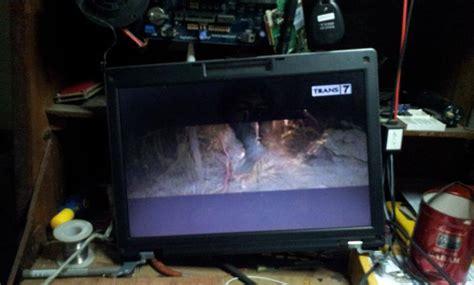 Tv Lcd Rusak Memperbaiki Tv Lcd Rusak Pudar Duwi Arsana