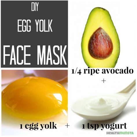 diy egg mask diy egg yolk mask recipes for glowing skin bellatory