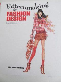 patternmaking for fashion design helen joseph armstrong 5th edition download english japanese fashion design sewing pattern book