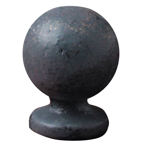mario industries bronze iron sphere l finial b191 the
