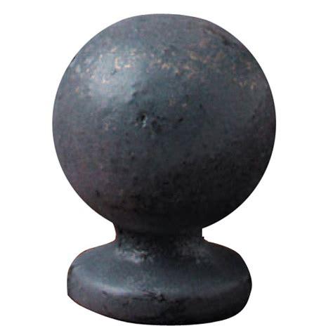 mario industries bronze iron sphere l finial b191 the