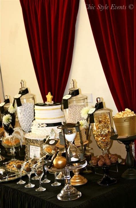 hollywood glam party birthday party ideas themes