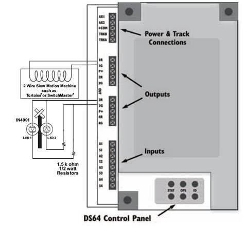 digitrax command wiring diagram digitrax get free image