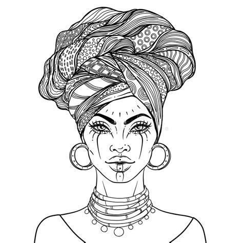 Turban Drawing