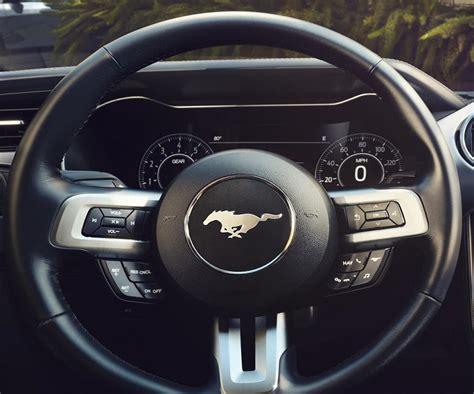 mustang gt steering wheel 2018 ford mustang gt changes specs release date price