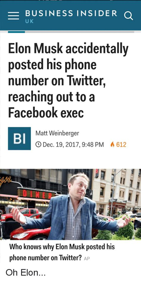 elon musk phone business insider u k elon musk accidentally posted his
