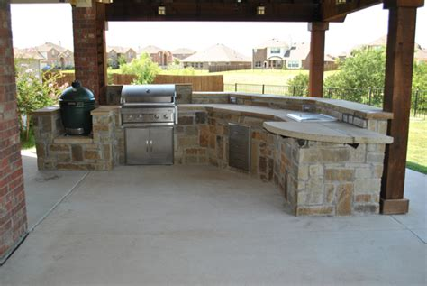 How To Build A Custom Kitchen Island lewisville outdoor kitchens impact landscapes