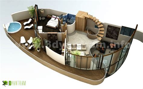 modern house design with floor plan 3d floor plan design interactive 3d floor plan yantram studio