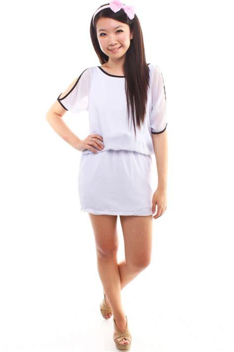 Shoulder Cut Out Dress shoulder cut out dress the label junkie