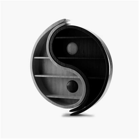 cinema4d bookshelf yin yang