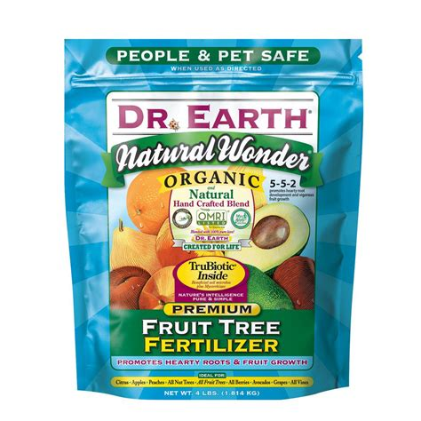 dr earth 4 lb fruit tree fertilizer