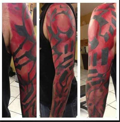 darth maul tattoo darth maul wars sleeve darth