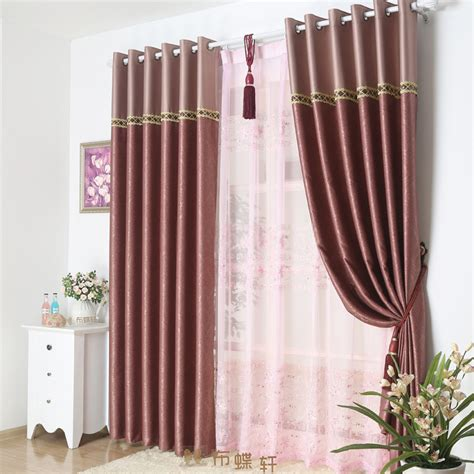 how to fit curtains to window how to install long curtains on the window home decorations