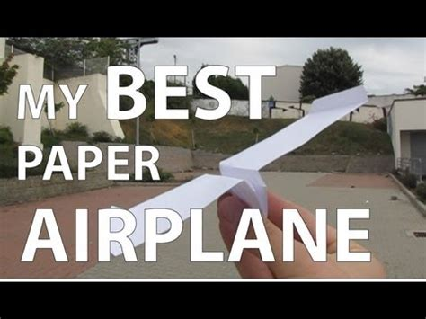 Best Origami Plane - my best paper airplane origami