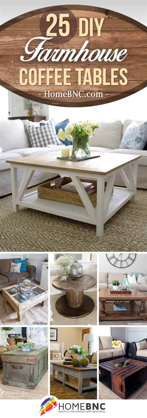 Ideas For Coffee Table 25 Best Diy Farmhouse Coffee Table Ideas And Designs For 2018