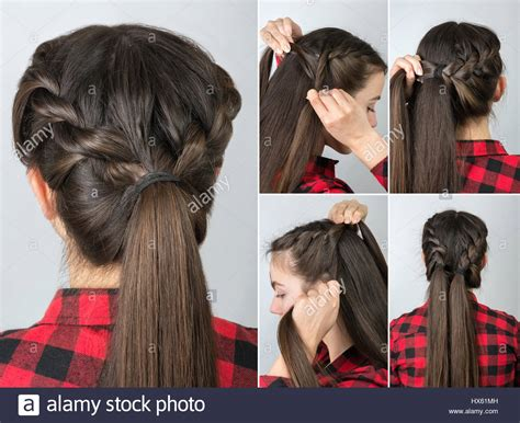 Simple Easy Hairstyles by Simple Twisted Hairstyle Tutorial Step By Step Easy