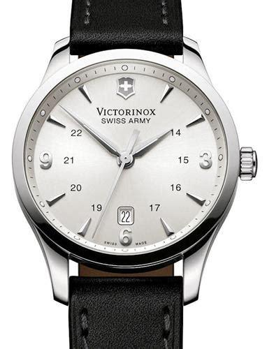 Swiss Army 2201 Silver Combi alliance steel silver 249034 victorinox swiss army alliance wrist