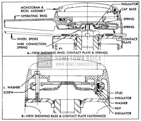 95 buick steering wheel horn wiring diagram wiring